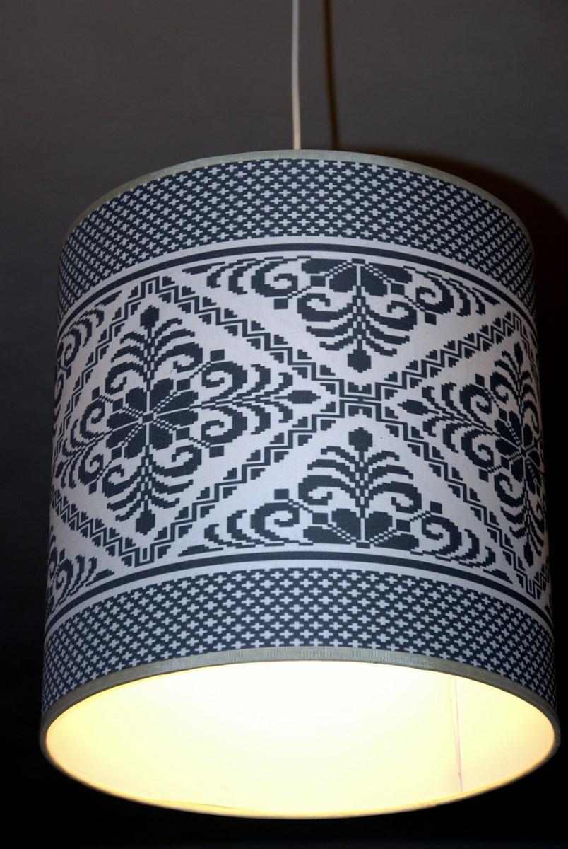 Creare Un Lampadario Di Stoffa paralumi ceramica e tessuto oristano | mediterraneum fictilia